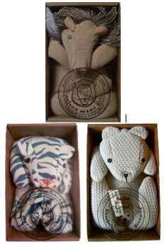 lions, tigers + bears! (set of 3) *LTD edition*