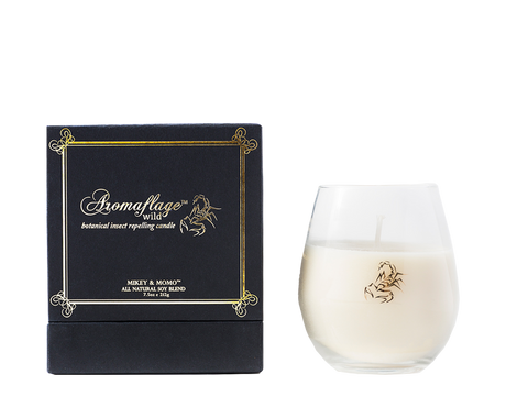 aromaflage wild - botanical fragrance & insect repellent - candle