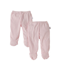 organic cotton footie pant 2 pack