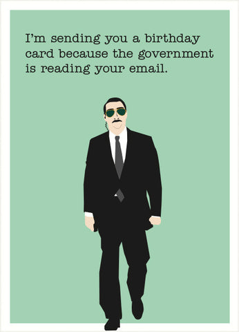 government birthday card