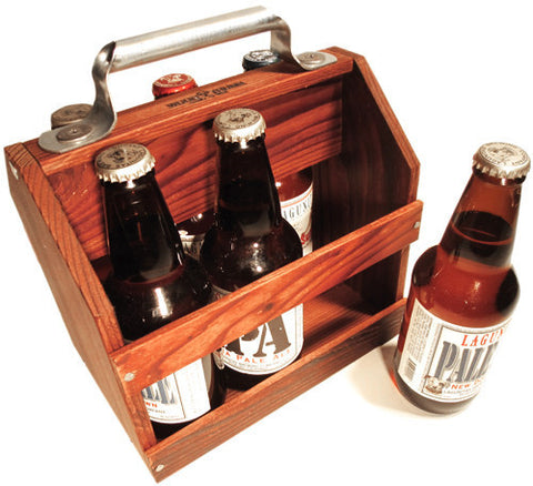 wood six pack