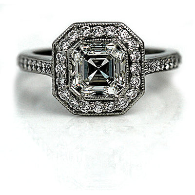 Asscher Cut Engagement Ring Meaning and Symbolism