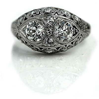 Vintage Engagement Rings for Valentine's Day!
