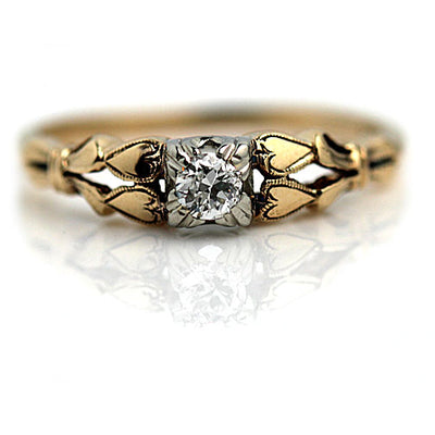 Affordable Vintage Engagement Rings Under $2,500