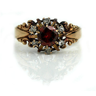 Garnet Engagement Ring Meaning & Symbolism