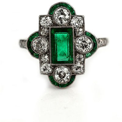 Emerald Engagement Ring Meaning & Symbolism