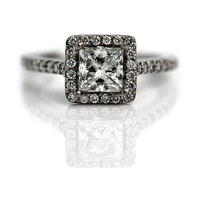 Princess Cut Engagement Ring Meaning and Symbolism