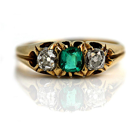 https://vintagediamondring.com/collections/vintage-antique-emerald-engagement-rings