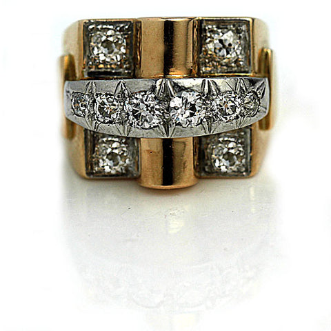https://vintagediamondring.com/products/retro-two-tone-rose-gold-diamond-ring?variant=28345526747200