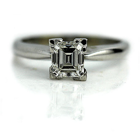 Vintage Asscher Cut Diamond