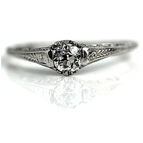 Timeless Solitaire Ring