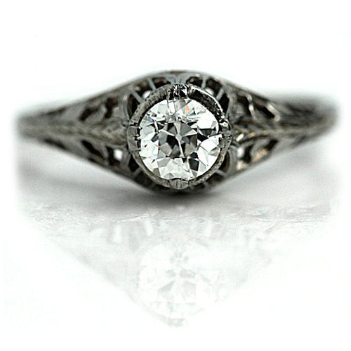 .55 Carat Vintage Diamond Solitaire Ring
