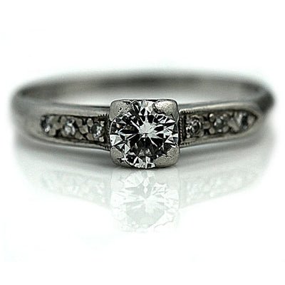 Classic .45 Carat Diamond Engagement Ring