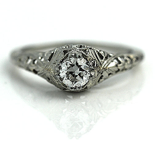 .55 Carat Art Deco Diamond Ring