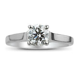 .77 GIA Jeff Cooper Diamond Ring in Platinum
