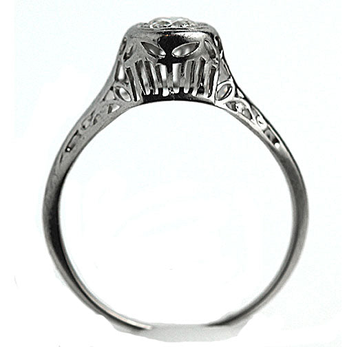 .40 Carat Art Deco Diamond Solitaire Ring