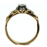 .35 Carat Mid Century Solitaire Diamond Ring