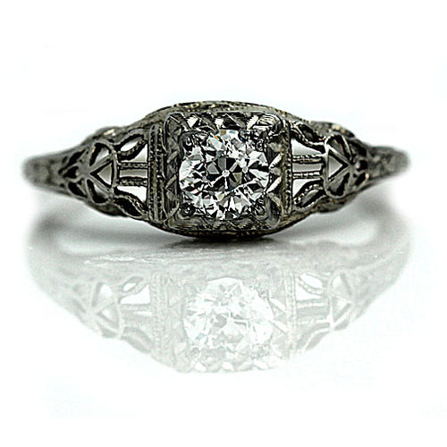 .40 Carat Antique Engagement Ring