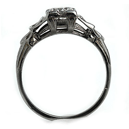 .65 Carat Art Deco Engagement Ring Circa 1930's