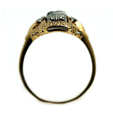 "Antique Diamond Dinner Ring Signed ""Jabel"""