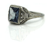 2.50 Carat Art Deco Gemstone Ring