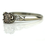 Fancy Brown Diamond Engagement Ring