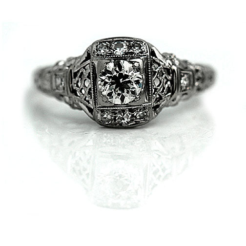 Art Deco Engagement Ring Circa 1930's