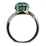 Vintage Blue Zircon Engagement Ring 2.20 Carat