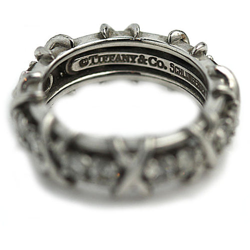 Tiffany and Co Schlumberger Wedding Ring Platinum
