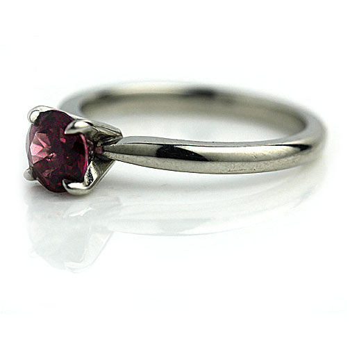 .60 Carat Vintage Tourmaline Engagement Platinum Ring