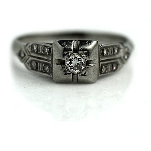 .15 Carat Art Deco Engagement Ring