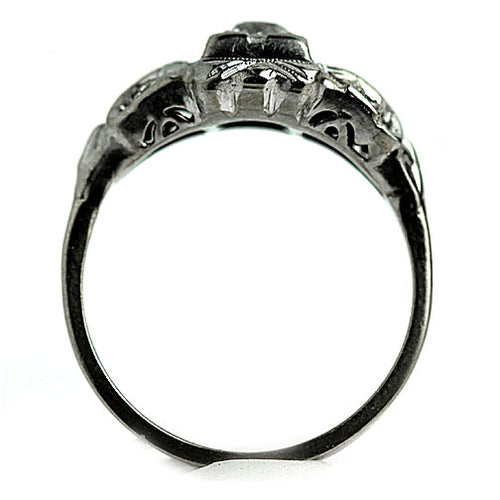 .40 Carat Antique Engagement Ring White Gold