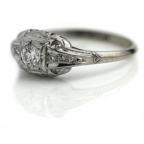 .20 Carat Art Deco Engagement Ring