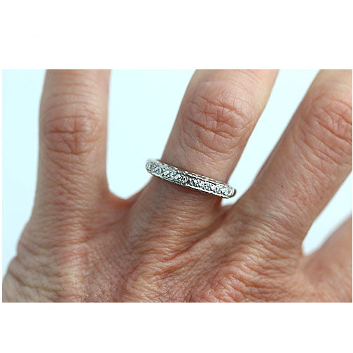 .10 ct 8 Stone Engagement Ring