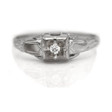 Antique Engagement Ring .08 Carat
