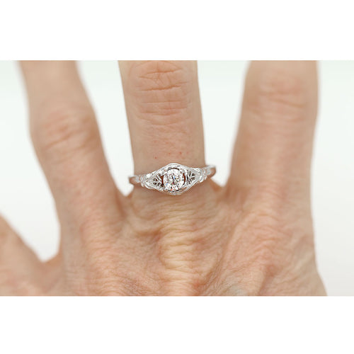 Prong Set Solitaire Engagement Ring