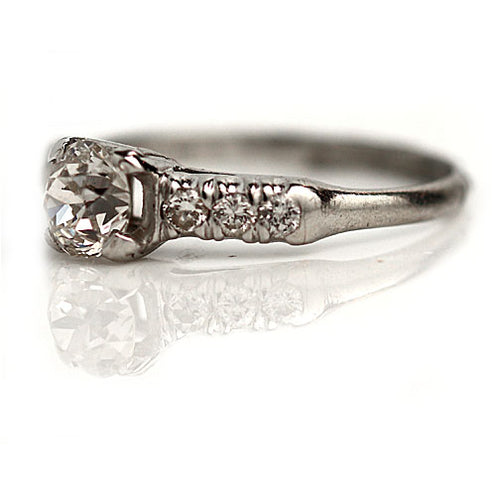 .50 Carat Antique Diamond Ring Circa 1940's