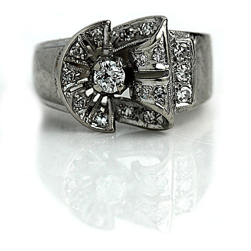 1940's Retro Diamond Ring