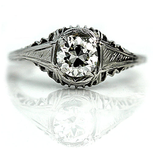 .70 Carat Art Deco Diamond Ring Circa 1930's