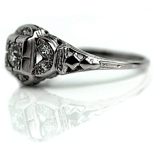 Art Deco Diamond Ring .25 Carat