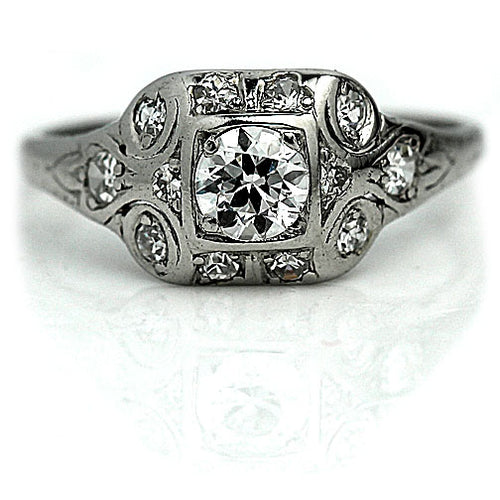 .60 Carat Vintage Diamond Engagement Ring
