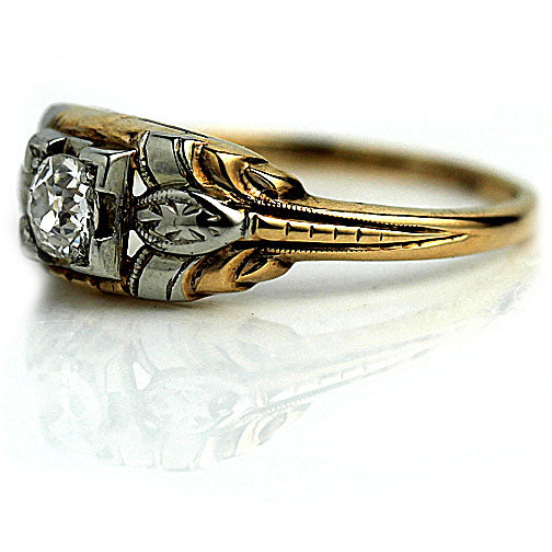 .35 Carat Vintage Diamond Ring