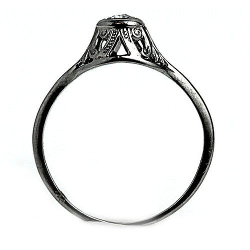 Art Deco Diamond Ring .15 Carat