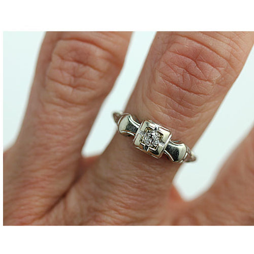 .15 Carat Solitaire Engagement Ring with Cathedral Band