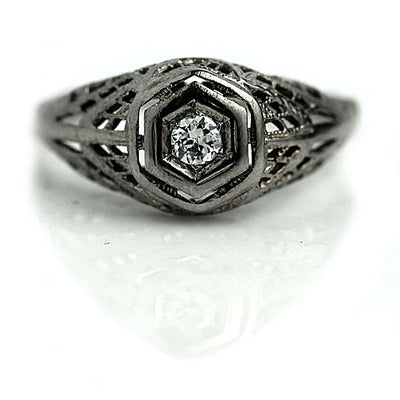 Antique Promise Ring