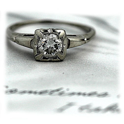 .60 Carat Antique Solitaire Engagement Ring
