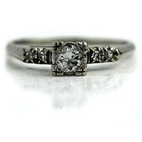 .35 Carat Mid-Century Diamond Ring