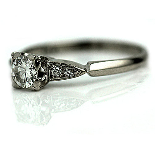 .45 Carat Vintage Diamond Ring