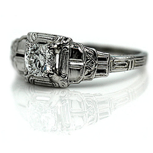 .60 Carat Art Deco Engagement Ring