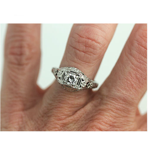 .30 Carat Antique Engagement Ring